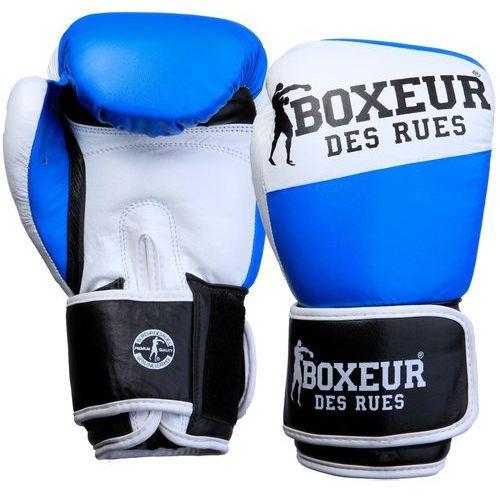 Boxeur Rękawice bokserskie bxt-591 (10 oz) niebiesko-biały darmowy transport (8058660513332)