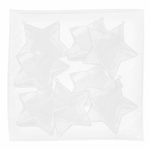 Titanum Gwiazdka plastikowa przezrocz 80mm 8szt craft-fun - 80mm \ 8szt (2501234504565)