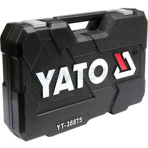 Zestaw narzędzi 126cz. dla serwisów samochodowych / YT-38875 / YATO - ZYSKAJ RABAT 30 ZŁ (5906083388750)