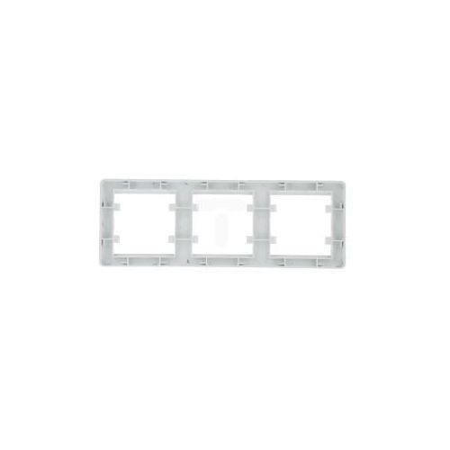 LUMINA2 Ramka potrójna pozioma biała WL5230