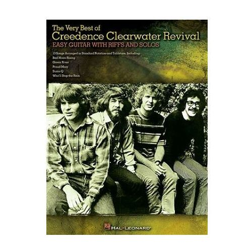Very Best Of Creedence Clearwater Revival - Easy Guitar With Riffs And Solos