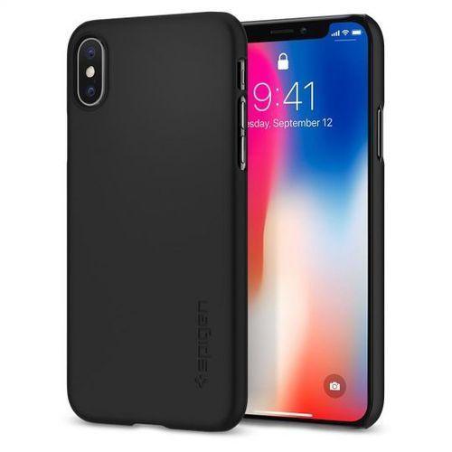 Sgp - spigen Spigen sgp thin fit black | obudowa ochronna dedykowana dla modelu apple iphone x / 10 (8809565300059)