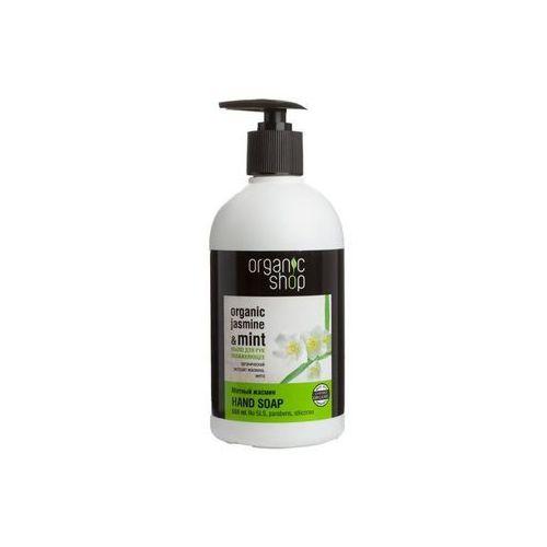 Organic Mint & Jasmine Moisturizing Hand Soap nawilżające mydło do rąk 500ml, BS OS
