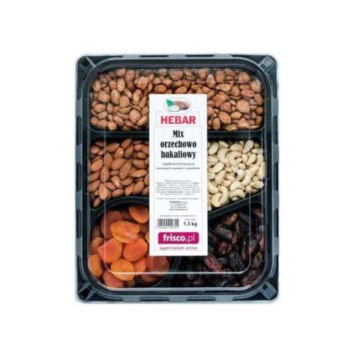 Mix (orzechy: ziemne nerkowca, migdały, morele, daktyle) marki Hebar