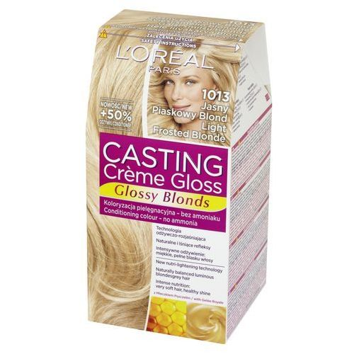 Loreal L'oreal paris, casting creme gloss. farba do włosów, 1013 jasny piaskowy blond - l'oreal paris (3600521831809)