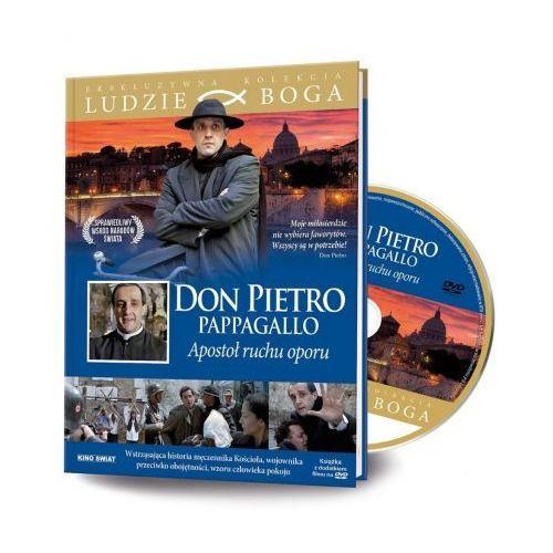Ludzie Boga. Don Pietro Pappagallo DVD + książka (9788366126183)
