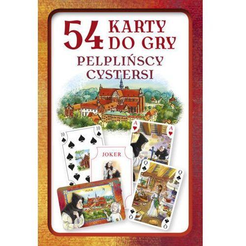 Praca zbiorowa Karty do gry – pelplińscy cystersi (zestaw 54 kart) (5903111744120)