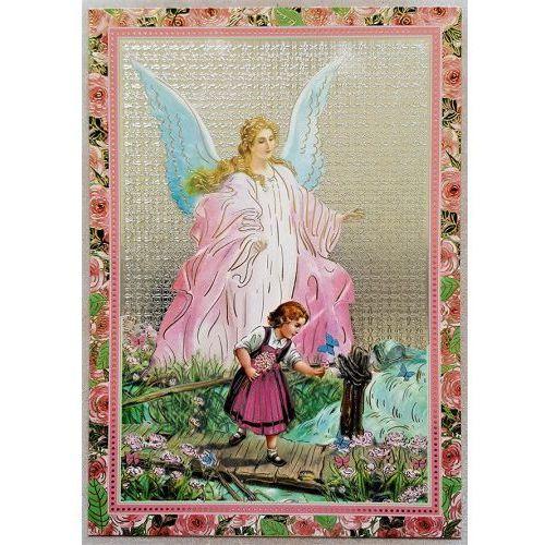 Ikona Anioł Stróż - dla dziewczynki