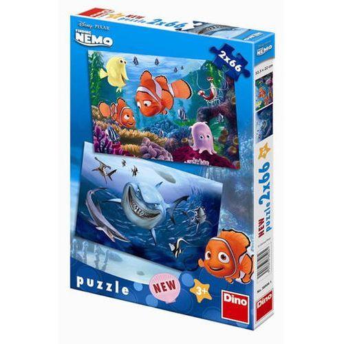 Neuveden Nemo - puzzle 2 motivy v balení 2x66 díl