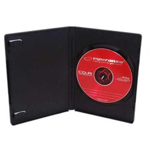 Etui Esperanza na 1DVD VideoBox czarne - czarny - produkt z kategorii- Pudełka i etui na płyty