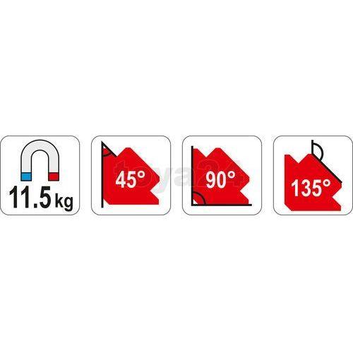 SPAWALNICZY KĄTOWNIK MAGNETYCZNY 82*120*13 - produkt z kategorii- Migomaty i półautomaty spawalnicze