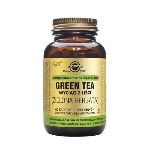 Zielona herbata wyciąg standaryzowany z liści Green tea 60 kapsułek Solgar