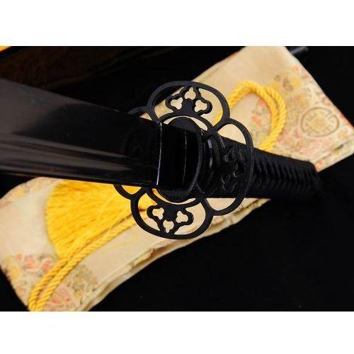 Miecz japoński samurajski ninja do treningu, stal wysokowęglowa 1095, maru, r805 marki Kuźnia mieczy samurajskich