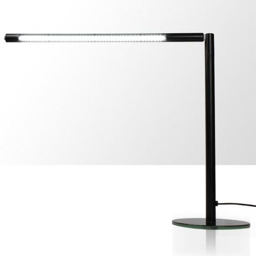 Lampka na biurko LED 4W - rurka - czarna, produkt marki Splendore