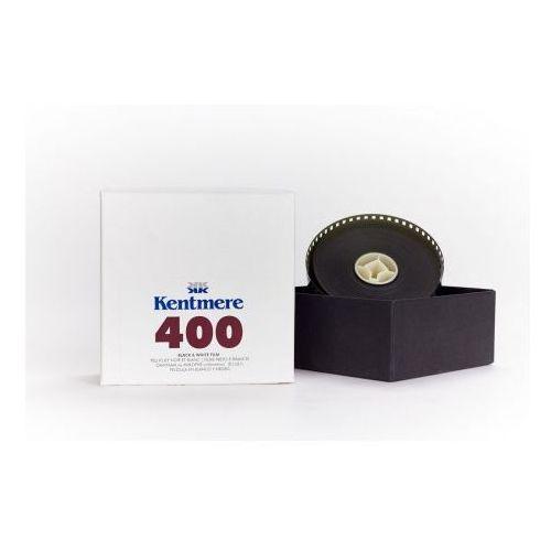 Kentmere 400/36 iso 400 30,5m na szpuli małoobrazkowy negatyw czarno-biały typ 135 marki Ilford