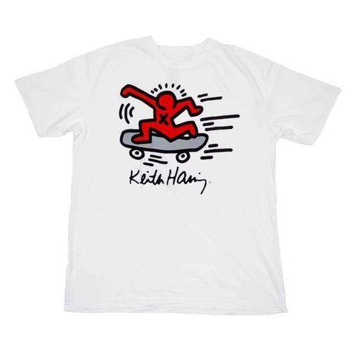 koszulka ALIEN WORKSHOP - Haring Sk8Erboi White (BILA), kolor biały