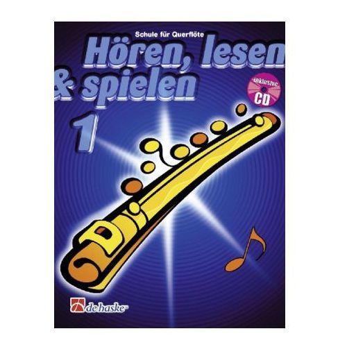 Hören, lesen & spielen, Schule für Flöte, m. Audio-CD. Bd.1