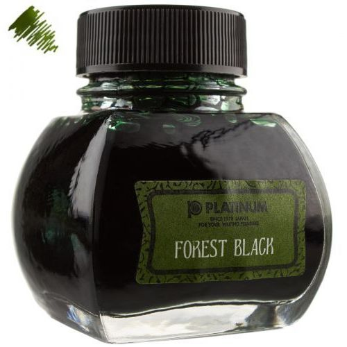 Platinum atrament classic forest black