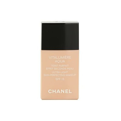 Chanel vitalumiére aqua ultra lekki make-up nadający skórze promienny wygląd odcień 40 beige (ultra-light skin perfecting makeup) spf 15 30 ml