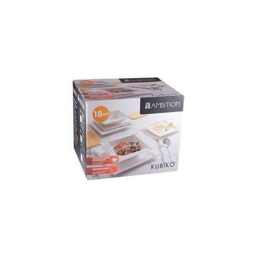 Kubiko 18 elem. komplet obiadowy (serwis obiadowy)