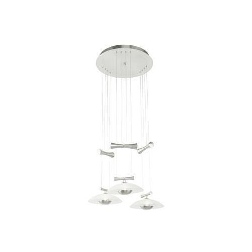 Eglo 89504 - Lampa wisząca ZELES 3xGY6,35/50W/230V opalowe szkło (lampa sufitowa)