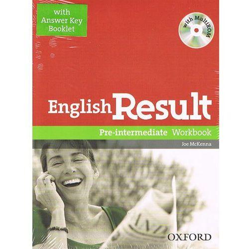 English Result Pre-Intermediate Ćwiczenia z Odpowiedziami + MultiROM (9780194304993)