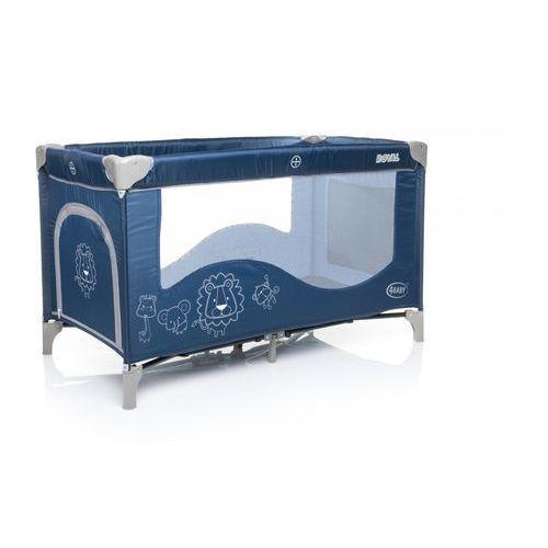 4Baby Łóżeczko turystyczne Royal, Navy blue - produkt dostępny w Mall.pl