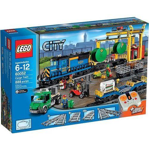 Lego City POCIĄG TOWAROWY 60052 z kategorii: klocki dla dzieci