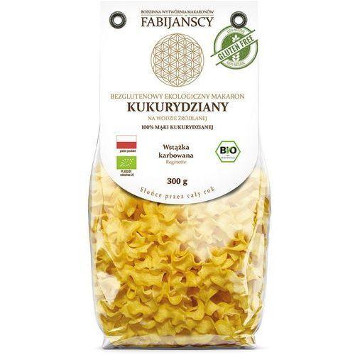 Fabijańscy (makarony) Makaron (kukurydziany) wstążka karbowana reginette bezglutenowy bio 300 g - fabijańscy