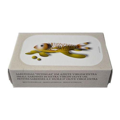 """Portugalskie mini sardynki """"petingas"""" w oliwie z oliwek extra virgin 125g Jose Gourmet"""