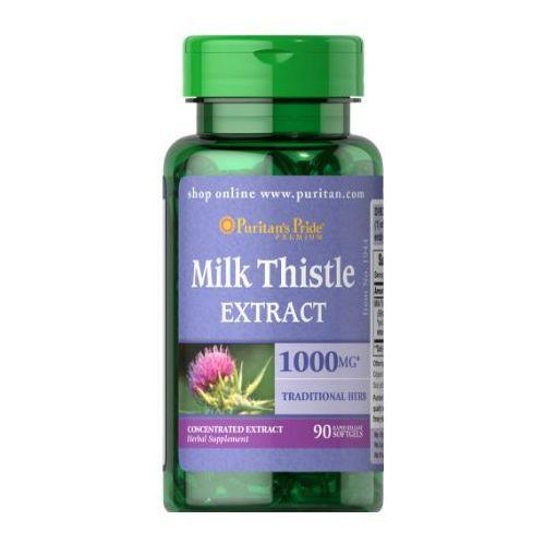 Puritan's Pride Ostropest Plamisty (Milk Thistle Extract) 1000 mg 90 kaps.