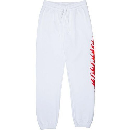 spodnie dresowe SANTA CRUZ - Flame Dot Sweatpant White (WHITE), dresowe