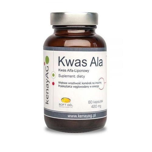 Kwas alfa liponowy ALA 60 kaps. (5900672150858)