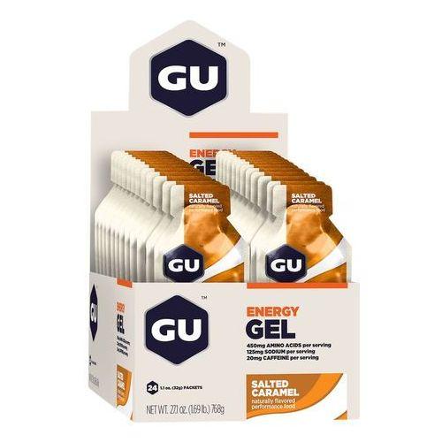 gel żywność dla sportowców salted caramell 24 x 32g 2018 batony i żele energetyczne marki Gu energy