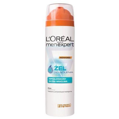 L'Oreal Paris Men Expert, 200 ml. Żel do golenia hipoalergiczny - L'oreal Paris
