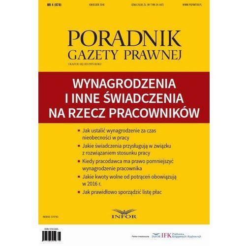 Wynagrodzenia i inne świadczenia – klasyfikacja i rozliczanie - Infor PL - ebook