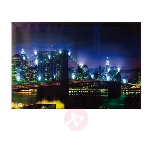 Obraz świetlny BRIDGE z LED, 60 x 40 cm