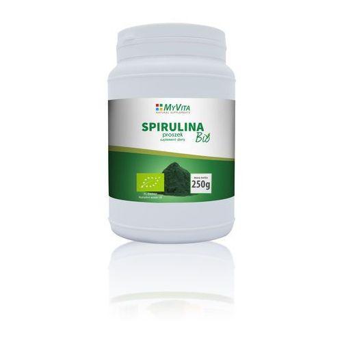 Spirulina Bio Myvita proszek 250g (5905279123007)