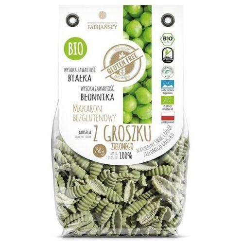 Fabijańscy (makarony) Makaron z groszku zielonego muszla gnocchi sardi bezglutenowy bio 250 g fabijańscy (5902811251051)
