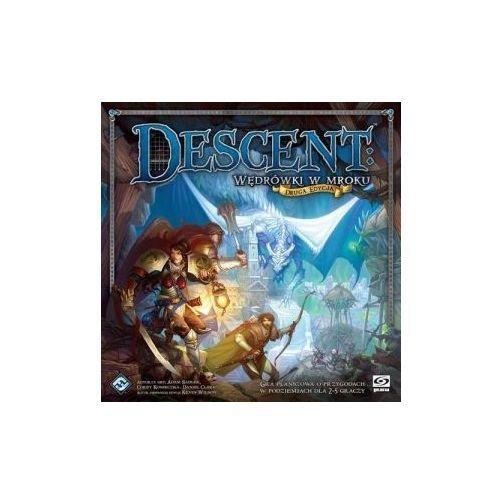 Galakta Descent: wędrówki w mroku (druga edycja). gra planszowa