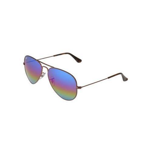 Ray-ban Rayban aviator large metal okulary przeciwsłoneczne bronze/copper