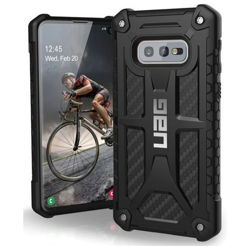 Etui UAG Monarch do Samsung Galaxy S10E Carbon Fiber (0812451031621)