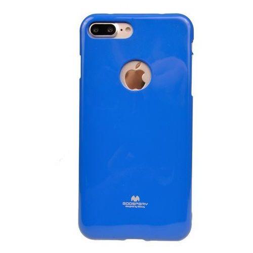 Etui nakładka goospery jelly case do apple iphone 7 plus / iphone 8 plus niebieski - niebieski marki Mercury