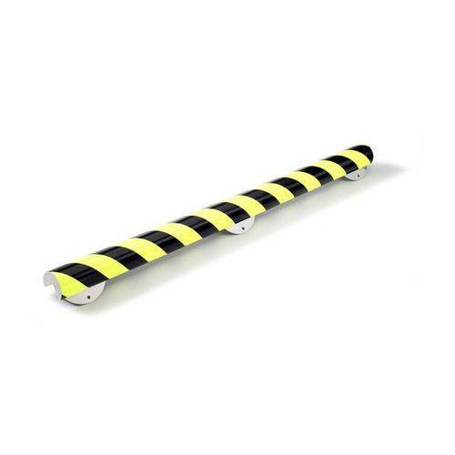 Shg pur-profile Profil ostrzegawczy i ochronny knuffi®,typ a+, dł. 500 mm, przekrój: ćwierćkoło, duże