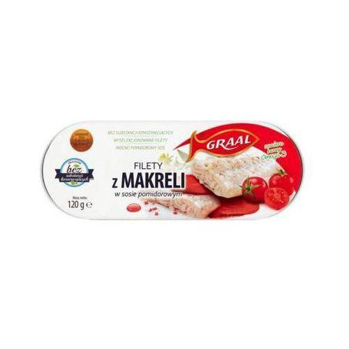 120g filety z makreli w sosie pomidorowym marki Graal