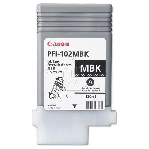 Tusz pfi102-mbk matte black marki Canon