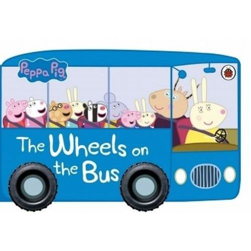 Peppa Pig The Wheels on the Bus -, oprawa kartonowa