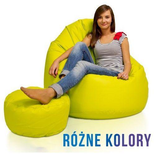 Polskie pufy Pufa - fotel sako xxxl eko-skóra