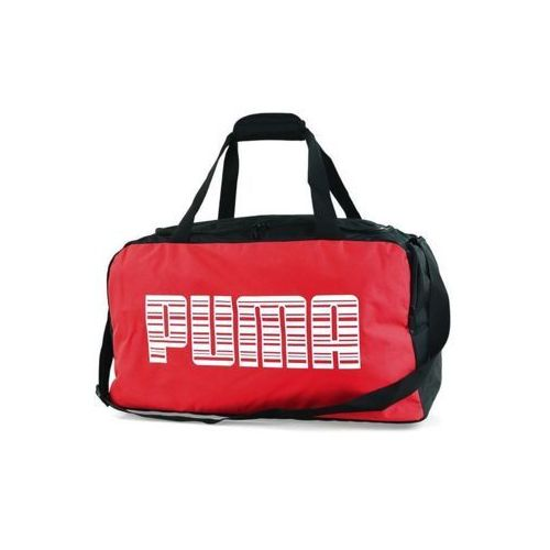 Torba Puma Team Medium 74098 02 czerwono-czarna