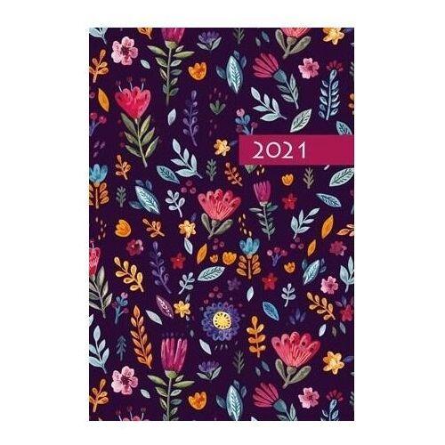 Terminarz 2021 b7 mały kolorowy ornament marki Edycja świętego pawła